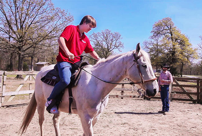 equine therapy for boys